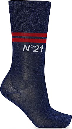 N°21 Socks With Logo Womens Navy Blue