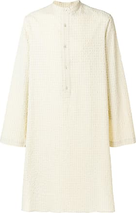 Qasimi mid-length tunic shirt - Neutrals