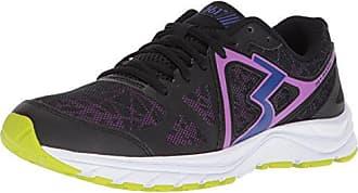 361° Womens 361-RAMBLER Running Shoe, Black/Crush_0996, 8 M US