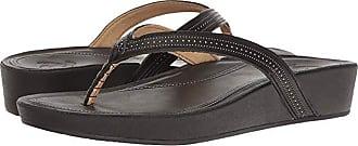 Olukai Ola (Black/Black) Womens Sandals