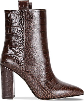 crocodile boot Brown effect TEXAS ankle PARIS OikPZuX