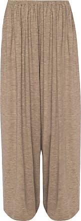 The Row Kadir Wide Leg Trousers Womens Brown
