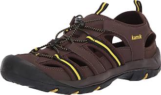 kamik Mens Byronbay Closed Toe Sandals, Brown (Dark Brown DBR), 11 UK