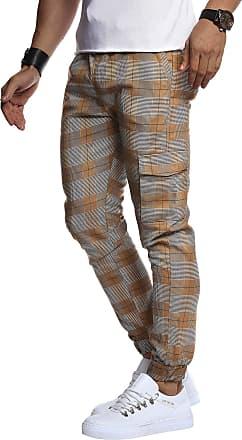 LEIF NELSON Mens Cargo Pants Chino Chino N NV