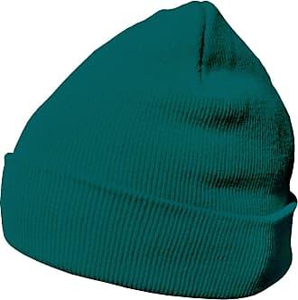 DonDon winter hat beanie warm classical design modern and soft petrol blue