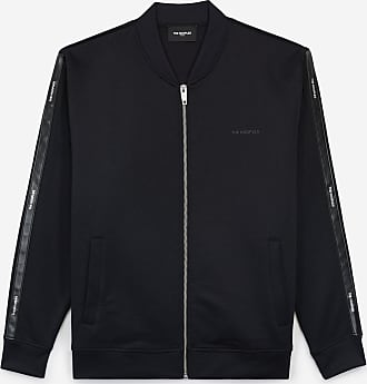 The Kooples Blue sweatshirt in cotton blend w/white trims - MEN