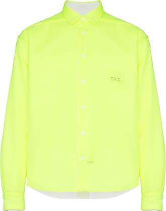 Nulabel Camisa com estampa de logo - Amarelo