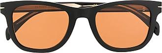 David Beckham Óculos de sol quadrado DB 1006/S - Preto