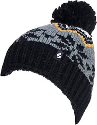 Heat Holders 1 no. Ladies Genuine Heatweaver Thermal Winter Warm HAT 5 Variations - Alesund, Nora, Solna, Areden, Lund (Black - Lagan)