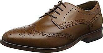d22eeeed0ad Burton Menswear London Keyworth - Zapatos de Vestir Hombre, Color marrón,  Talla 40