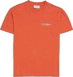 Han Kjobenhavn Orange Boxy Tee - L