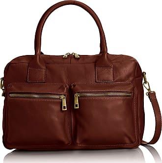 Chicca Borse Handbag women soft leather 36 x 26 x 15 cm - mod. Letizia