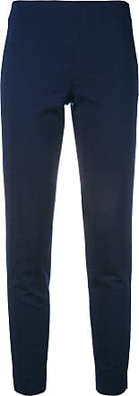 PT01 Guia embroidered pants - Blue