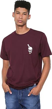 Hawaiian Dreams Camiseta HD Knife Skull Vinho