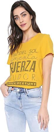Lança Perfume Camiseta Lança Perfume Aplicações Amarela