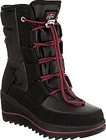 Alegra Black Women/'s Size 7 New Khombu Waterproof Lace-up Ankle Boots