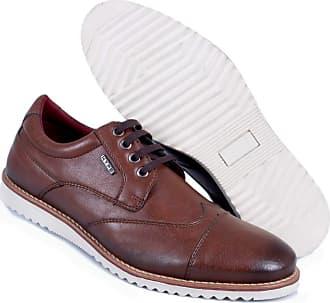 Hype Sapato Casual Masculino Oxford Hype Em Sintético 1004 (43, Conhaque)