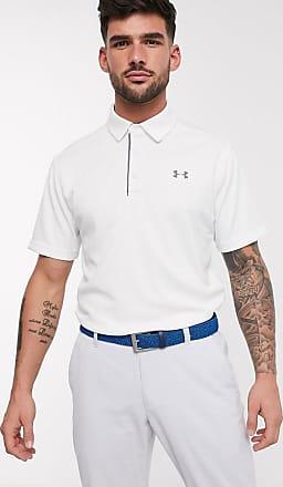 Under Armour Golf - Tech - Polo bianca-Bianco