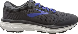 Brooks Womens Dyad 10 Running Shoes, Black (Black/Ebony/Blue 064), 7.5 UK