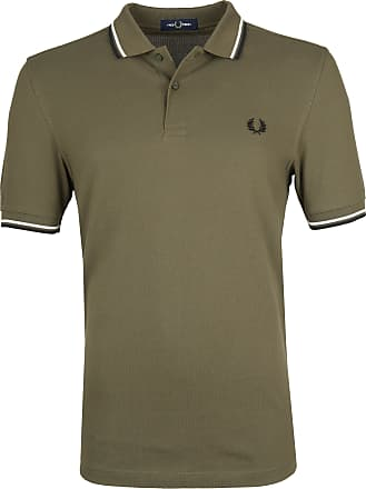 Fred Perry Polohirt Army K93