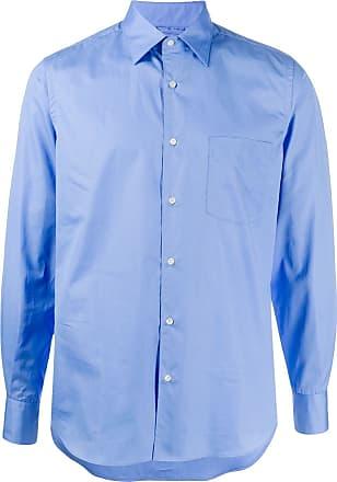 Aspesi Camisa de algodão - Azul