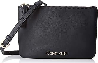 Calvin Klein Ck Must Ew Crossbody, Womens Cross-Body Bag, Black, 1x10x23 cm (B x H T)