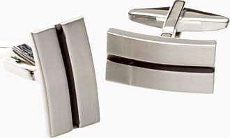 Kenneth Cole Reaction Mens Cufflinks, Silver, One Size