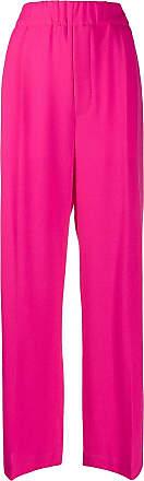 JEJIA Calça pantalona cintura alta - Rosa
