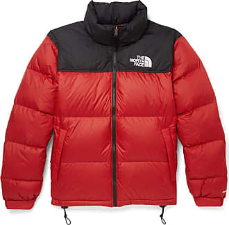 e65d84f171dee The North Face 1996 Retro Nuptse Quilted Shell Hooded Down Jacket - Red