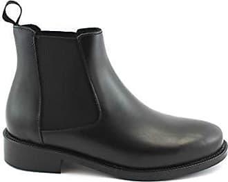 951935a5ca6895 Frau 98M3 Schwarze Schuhe Ankle Boots Stiefeletten Beatles Leder 41