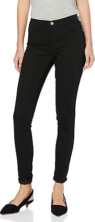 Selected Womens Slfgaia Hw Jegging W Noos Slim Jeans, Black (Black Denim Black Denim), 36W