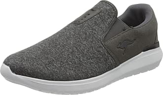 Kangaroos Mens KH-JERS Loafer, Steel Gray/Jet Black, 5.5 Child UK