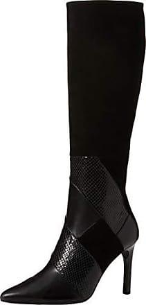 Geox d calinda high d, stivali alti donna, nero (black c9999), 40 eu