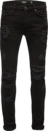 Tigha Skinny Jeans Morten schwarz