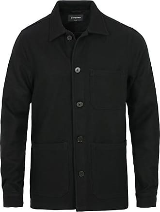 A Day's March Original Overshirt Wool Jacket Navy