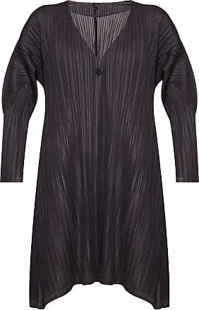 Issey Miyake Pleated Cardigan Womens Black
