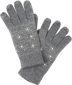 d395c328ef5c80 Ulla Popken Handschuh Damen One Size, grau, Mode in großen Größen