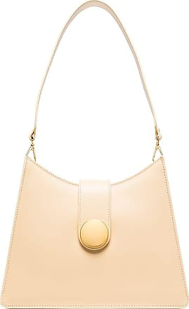 Elleme Cat leather shoulder bag - Amarelo