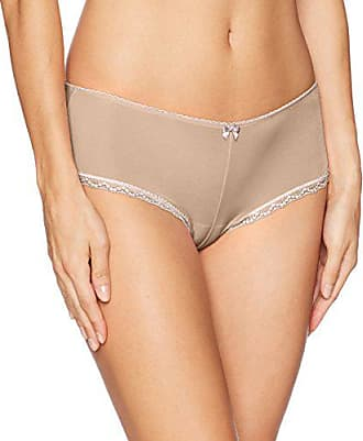 Betsey Johnson Womens Perfectly Sexy Cheeky Hipster Panty, Sand, L