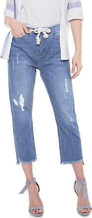 Carmim Calça Jeans Carmim Boyfriend Tina Tomboy Azul