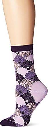 Ozone Womens Kimono Threads Sock, Violet, one size