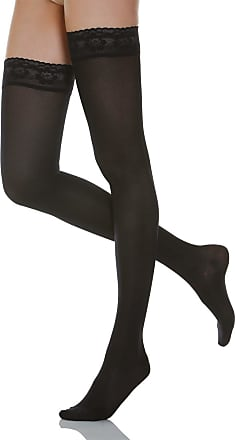 140 denier microfiber moderate support hold up stockings 18-22 mmHg Relaxsan Microfibre 870M