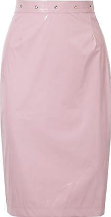 Fleur du Mal Pvc Skirt - Lilac