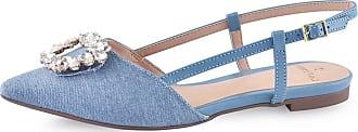 La Femme Slingback La Femme Clarice Jeans Azul 35