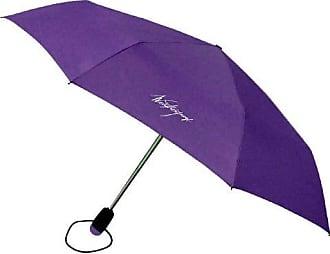 Weatherproof 43 Inch Auto Open and Close Supermini Umbrella, Purple, One Size