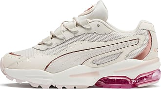 Puma Cell Stellar Soft Womens Trainers, Pastel Parchment/Rose Gold, size 6.5, Shoes