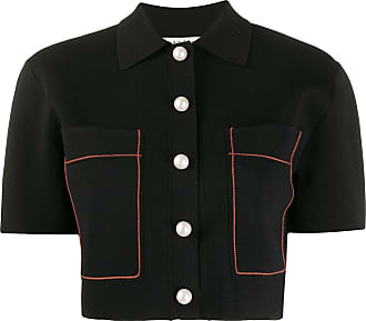Sandro cropped jacket - Black