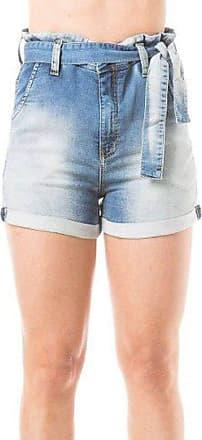 Eventual Short Jeans Feminino Clochard Cintura Alta Evt Eventual