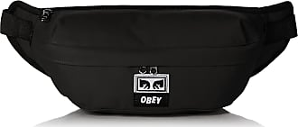 Obey Mens DROP OUT SLING PACK Backpacks, Black, One size