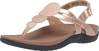 Rockport Women Ridge Circle Thong Slide Sandal, Pink, 9 W US